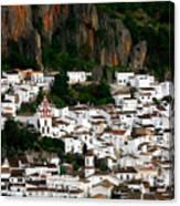 White Village Of Ubrique Spain Canvas Print