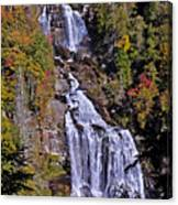 White Water Falls Canvas Print