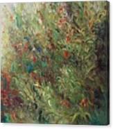 White Wildflowers-2 Canvas Print