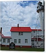 Whitefish Point Lighthouse I Canvas Print