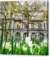 Whitehall Gardens Canvas Print