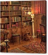 Whitehern Library Canvas Print