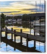 White's Cove Sunset Canvas Print
