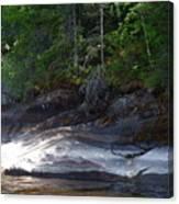 Whiteshell Provincial Park Lakeshore Canvas Print