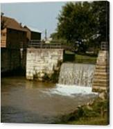 Whitewater Canal Locks Metamora Indiana Canvas Print