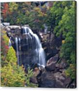 Whitewater Falls In Nc Canvas Print