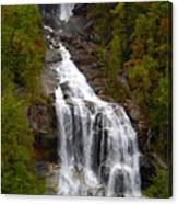 Whitewater Falls Canvas Print