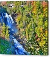 Whitewater Falls North Carolina Canvas Print
