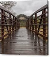 Whitewater Park Bridge Spring 4 Canvas Print