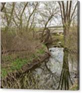 Whitewater River Spring 41 A Canvas Print