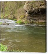Whitewater River Spring 42 Canvas Print