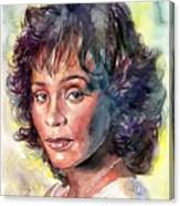 Whitney Houston Portrait Canvas Print