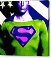Who Is Superman Canvas Print