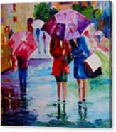 Who Loves Shopping Canvas Print