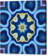 Whorl Kaleidoscope Canvas Print