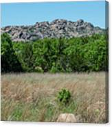 Wichita Mountains Wildlife Refuge - Oklahoma Canvas Print