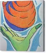 Wicket Fireball Canvas Print