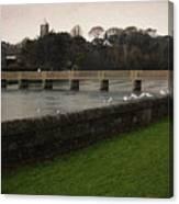 Wicklow Footbridge Canvas Print