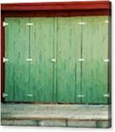 Wide Barn Door Canvas Print