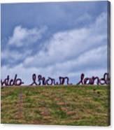 Wide Brown Land - Canberra - Australia Canvas Print