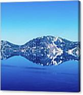 Wide Crater Lake Canvas Print