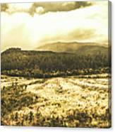 Wide Open Tasmania Countryside Canvas Print