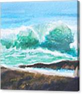 Widescreen Wave Canvas Print