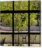 Wiew Out The Window Canvas Print