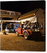 Wigwam Motel #3 Canvas Print