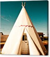 Wigwam Room #3 Canvas Print