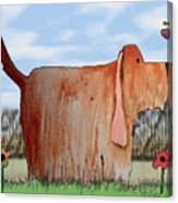 Wilbur Canvas Print