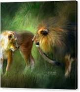Wild Attraction Canvas Print