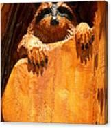 Wild Bandit  Canvas Print