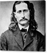 Wild Bill Hickok - American Gunfighter Legend Canvas Print