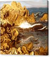 Wild California Coast - Modern Art Canvas Print