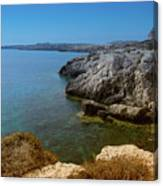 Wild Coast Cyprus Canvas Print