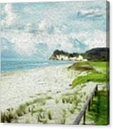 Wild Coastline Canvas Print