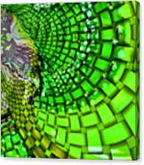 Wild Curves Abstract Canvas Print