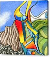 Wild Eye Canvas Print
