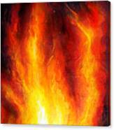 Wild Fire 04 Canvas Print