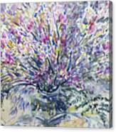 Wild Flowers #4 Canvas Print