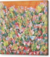 Blooming With Joy Canvas Print