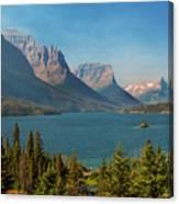 Wild Goose Island - Glacier National Park Canvas Print
