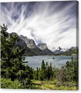 Wild Goose Island Glacier Park 2 Canvas Print