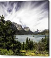 Wild Goose Island Glacier Park 4 Canvas Print