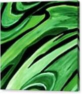 Wild Green Canvas Print
