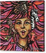 Wild Hair Canvas Print