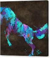 Wild Horses Couldn't Drag Me Away From You Canvas Print