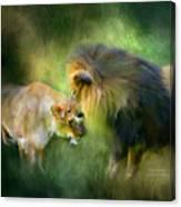 Wild Instinct Canvas Print