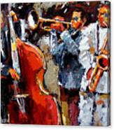 Wild Jazz Canvas Print